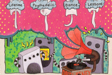 Lifetime Psychedelic Dance Lessons Artwork
