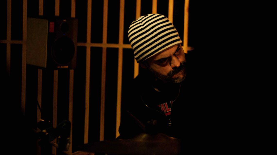 Fahad Khan drums for Shorbanoor, January 2017
