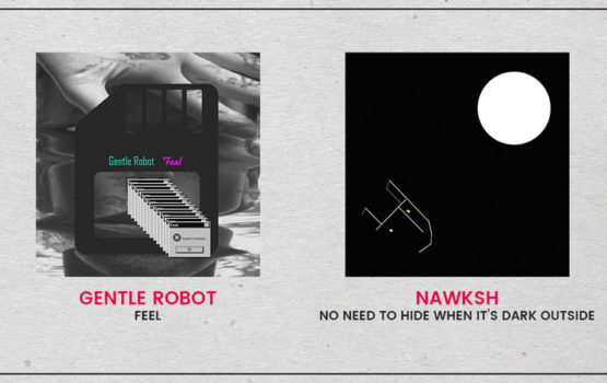 Listen to fresh albums from NAWKSH and Gentle Robot