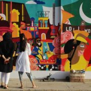 Reclaiming walls I Am Karachi